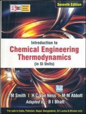 Introduction to Chemical Engineering : Special Indian Edition