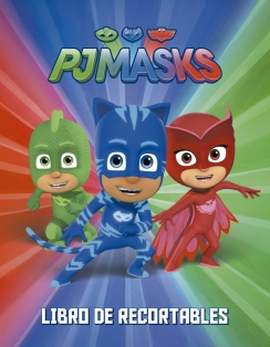 Pj masks - Libros de recortables
