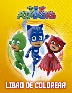 Pj masks - Libro recortable